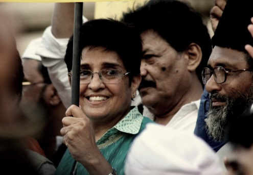 Kiran bedi at the IAC movement!