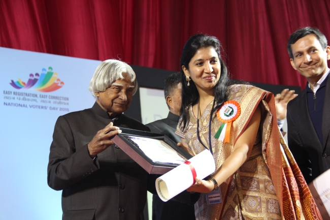 APJ Abdul Kalam honoring with the CSO Awards
