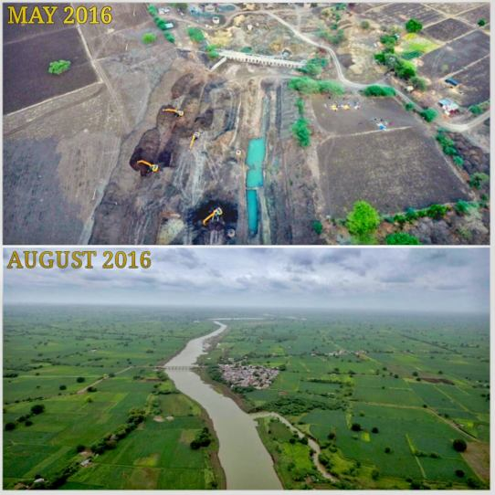 Latur: Before and After river rejuvenation
